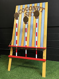 Coconut Shy Game Hire