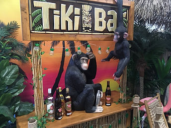 Tiki Bar Prop Hire