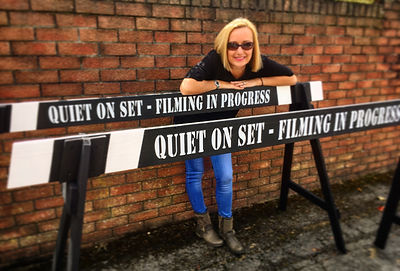 Movie Set Crowd barrier for hire