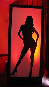 Dancing Girl Light box
