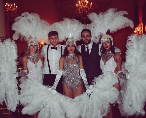 Showgirls at Orchardleigh House