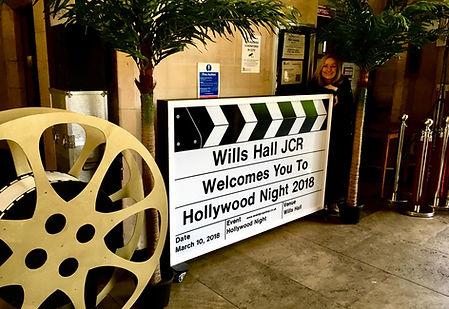 Wills Hall 2018 Hollywood Night