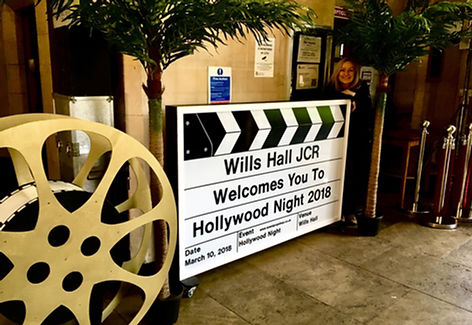 Wills Hall 2018 Hollywood Night