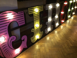 Circus Sign Prop Hire