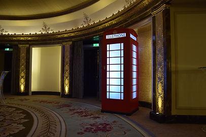 London Phone Box Prop