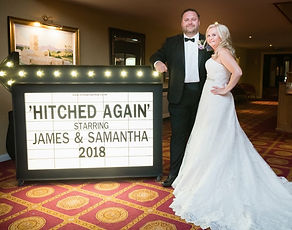 'Hitched Again' Cinema Sign Hire, Parkwa