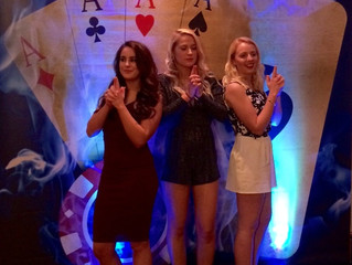 Cheltenham Chase Hotel 10th Jan 2016. 007, James Bond Themed Fun Casino Party.