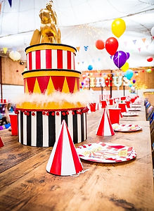 Luxury Circus Table Centrepieces