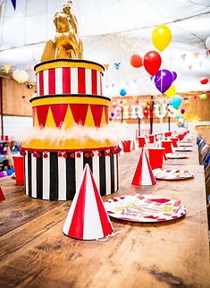Luxury Circus Table Centrepieces