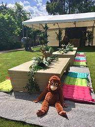 Dinosaur Garden Party