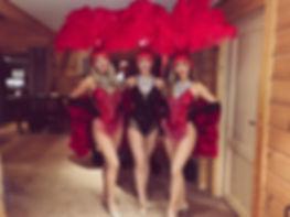 Vegas Showgirl Hire ICC Wales