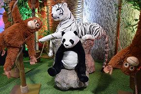 Children's Junge safari Party
