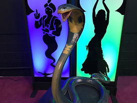 5m King Cobra Prop Statue
