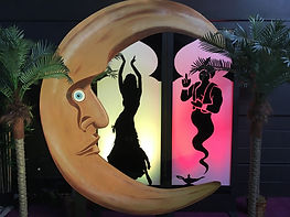 Crescent Moon 8ft Tall, Photo wall