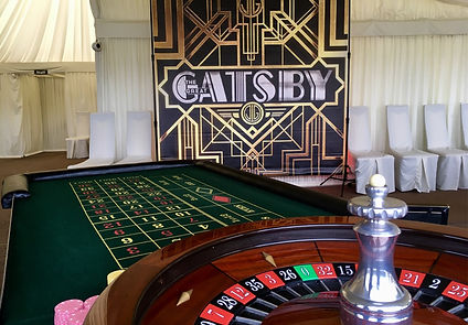 Gatsby Backdrop for Events