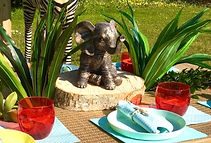 Outdoor Children's Party Pallet Tables