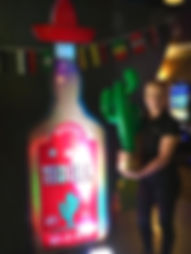 Mexican Tequila Bottle Prop Hire