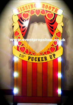 Vintage Style Kissing Booth Prop