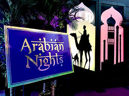 Arabian Nights and Aladdin themed Prop H