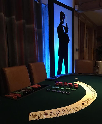 Casino Party Celtic manor hunter Lodges
