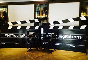 Personalised Giant Clapper Board Hire