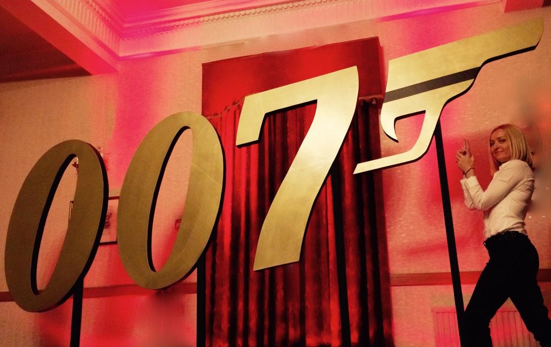 007 Logo Prop Hire