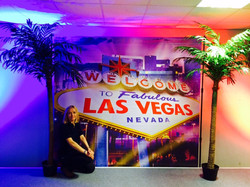 Las Vegas Sign Backdrop