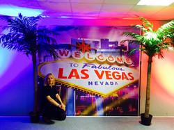 Las Vegas Sign Backdrop