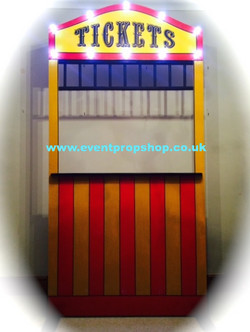 Vintage Ticket Booth Hire