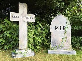 Grave Stone Prop Hire