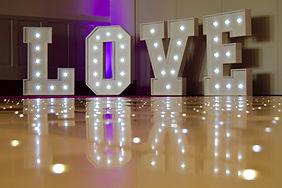 Love Letter Light Props