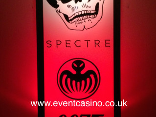 Spectre, 007, James Bond Party Prop Hire