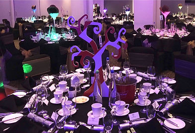Wonka table Centrepieces