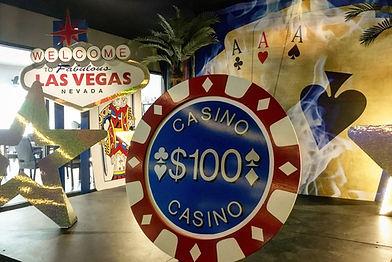 Giant Casino Chip Prop Hire, Casino Roya