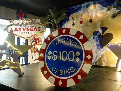 Giant Casino Chip Prop Hire, Casino Roya