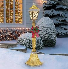 Christmas Street Lamp Prop Hire