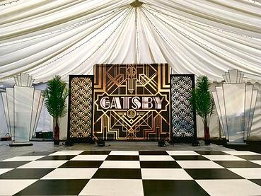 Gatsby, 1920's Art Deco Backdrop Photowa