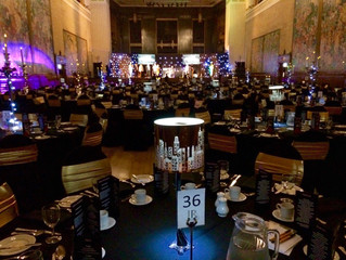 Brangwyn Hall, Swansea, Hollywood Themed Awards Night 4th December 2015.