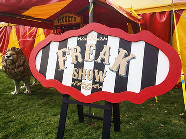 Freak Show Prop Hire