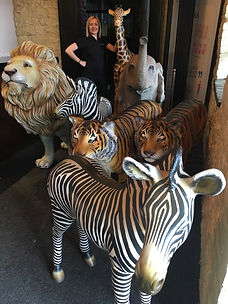 Life-sized Animal Statue Hire