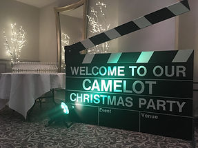 Clapperboard Prop Hire