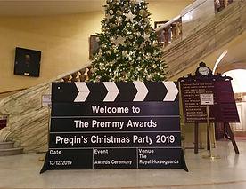 Preqin's Christmas Party at Royal Horseg