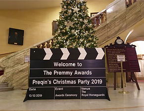 Preqin's Christmas Party at Royal Horseg