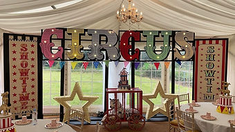 Circus Themed Prop Hire