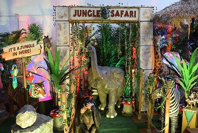 Jungle Safari Entranceway Hire
