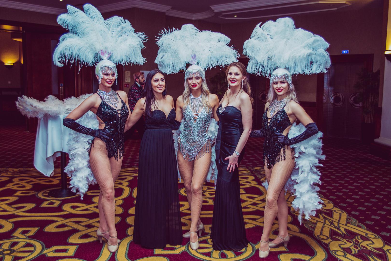 Showgirls at the Celtic Manor Resort