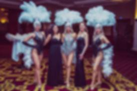 Showgirl Hire Celtic Manor Resort