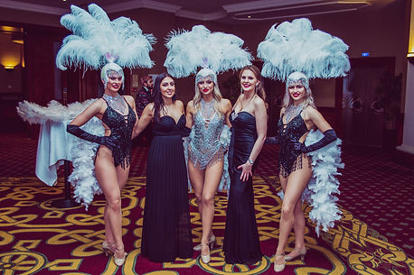 Showgirl Hire Celtic Manor Resort