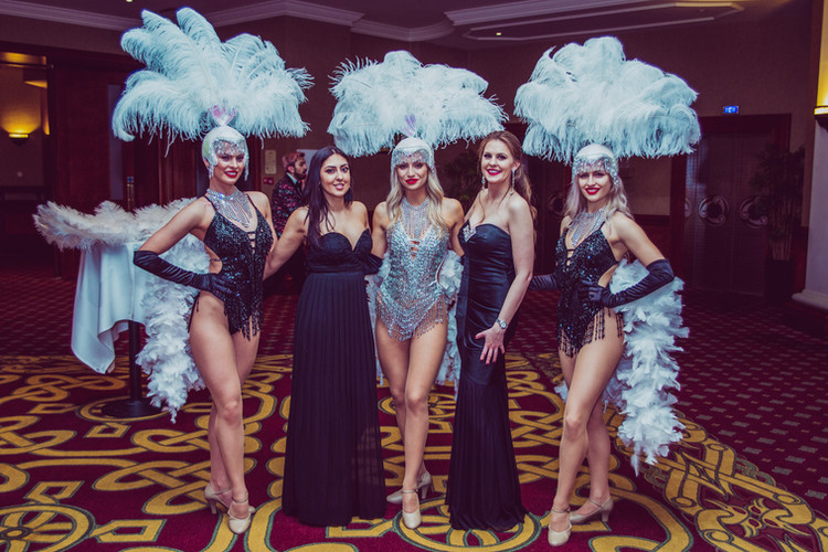 Showgirls at the Celtic Manor Resort