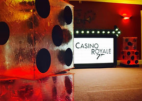 Casino Royale Prop Hire in London